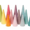 Environmentally friendly wooden toys Rainbow Forest Pastel - Grimm's