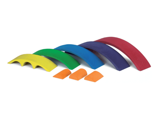 Wooden rainbow bridge set - Glückskäfer