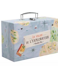 Explorers Suitcase for kids - Moulin Roty
