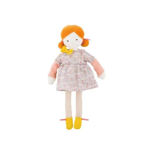 Fabric Doll Les Parisiennes- Blanche - Moulin Roty