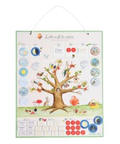 Magnetic calendar: the seasons - Moulin Roty