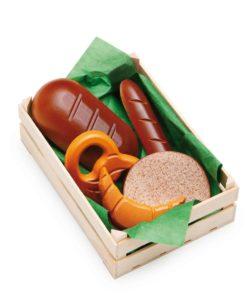 Wooden assorted baked goods - Erzi