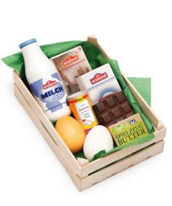 Wooden play food assorted baking ingredients - Erzi