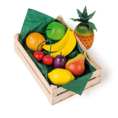 Wooden assorted fruits - realistic wooden play food - Erzi