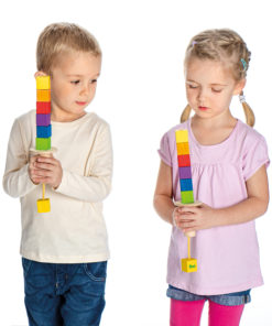 Wooden balancing towers game - Erzi