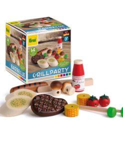Wooden barbecue set - Erzi
