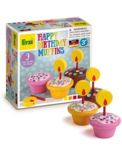 Wooden birthday muffins - Erzi
