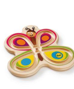 Jeu d'équilibrage en forme de papillon en bois - Erzi