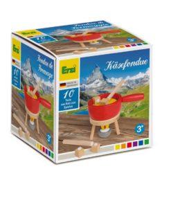 Wooden cheese fondue set - Erzi