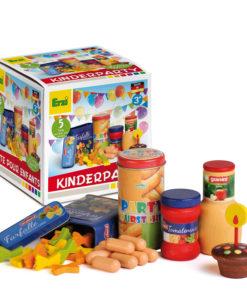 Wooden children's party set - Erzi