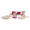 Wooden crockery set - Erzi