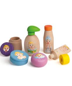 Assortiment de soins pour poupée en bois - Erzi