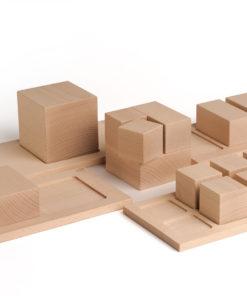 fractions d'un tout Jeu éducatif en bois sur les fractions d'un tout - Erzi