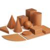 Wooden didactic geometrical shapes educational game - Erzi