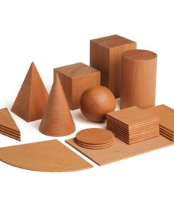 Wooden didactic geometrical shapes educational game - Erzi