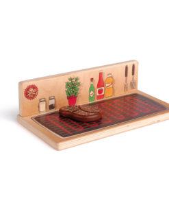 Wooden role play cooking studio - Erzi