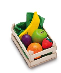Wooden play food small assorted fruits - Erzi