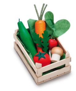 Wooden play food small assorted vegetables - Erzi