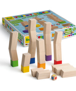 Wooden tricky blocks game - Erzi