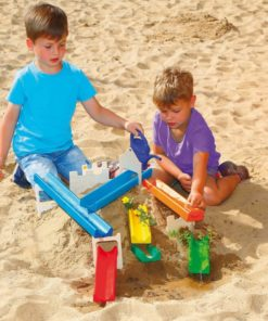 Wooden water and marble run - Erzi