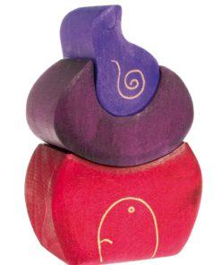 Handmade sustainable wooden blocks Gnome Bakery - Grimm's