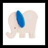Blue Elephant Natural Teether : Organic Baby Toy - Lanco Barcelona