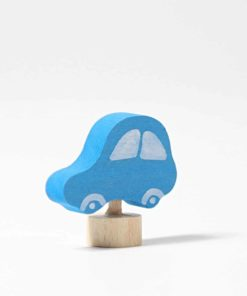 Blue car decorative figure - Grimm's