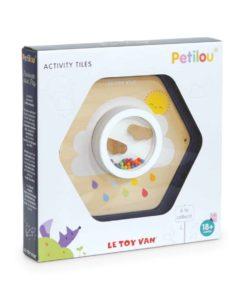 Cloud Activity Tile / Sustainable wooden toy- Le Toy Van