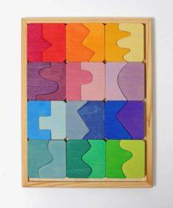 Concave trouve son convexe puzzle de jeu de correspondance - Grimm's