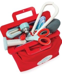 kit médical de docteur en bois durable - Le Toy Van