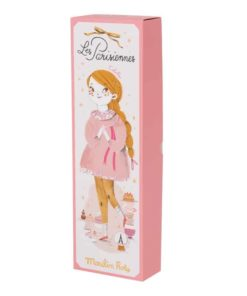 Fabric Doll Les Parisiennes- Mademoiselle Colette - Moulin Roty