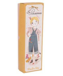 Fabric Doll Les Parisiennes: Mademoiselle Eglantine - Moulin Roty