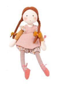 Fabric Doll Les Rosalies: Fleur - Moulin Roty