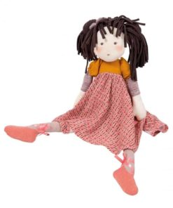 Fabric Doll Les Rosalies- Prunelle - Moulin Roty