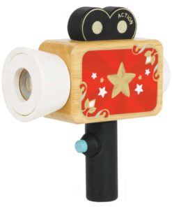Sustainable wooden toy Hollywood Film Camera Le Toy Van