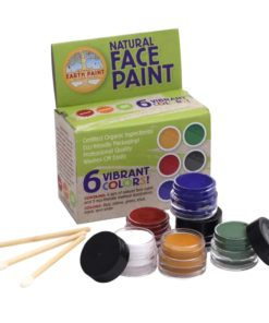 Natural Face Paint - 6 colours - Natural Earth Paint