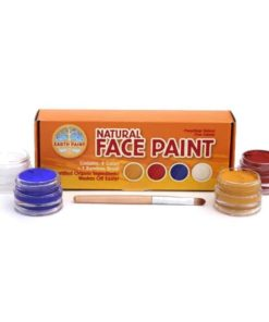 Natural Face Paint Kit - 4 colours - Natural Earth Paint