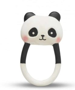 Organic Baby Toy Panda Kori Natural Teether - Lanco