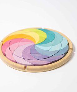 Pastel colour wheel building set - Grimm's