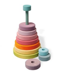 Pastel disc tower - Grimm's