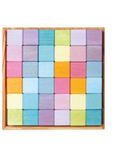 Pastel mosaic - Grimm's