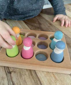 Pastel sorting board - Grimm's