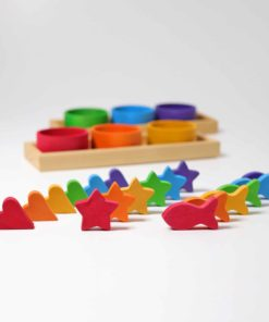 Rainbow bowls sorting game - Grimm's