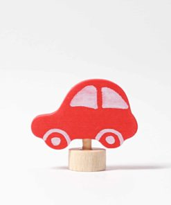 Red car decorative figure - Grimm's