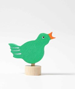 Singing bird decorative figure - Grimm's
