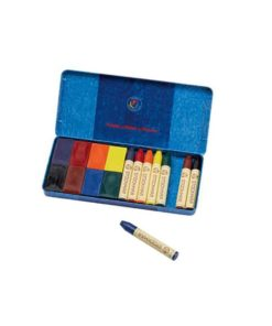 Wax crayons mix (16) : Waldorf art supplies - Stockmar