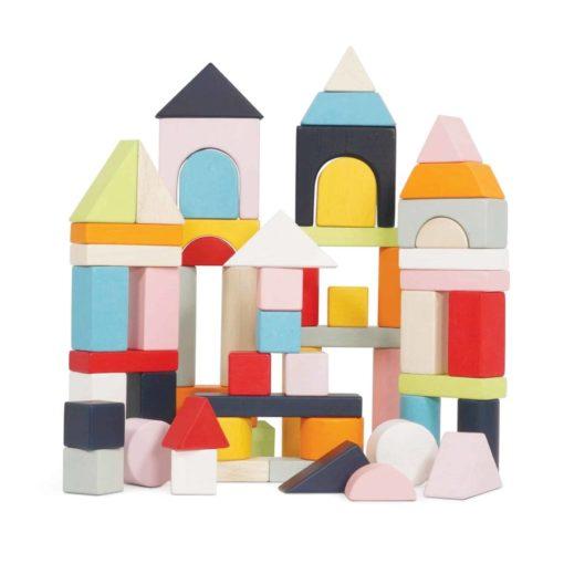 Ensemble de blocs de construction en bois / Jouet en bois durable - Le Toy Van
