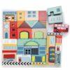 Blocs de construction en bois jouet durable Village de bois - Le Toy Van