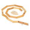 Wooden ball track setHandmade wooden toy - Glückskäfer