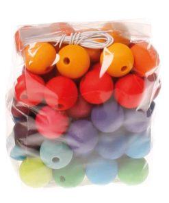 60 wooden beads - Grimm's